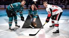 Sharks help 16-year-old fan live out her Make-A-Wish dream