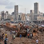 Large explosion strikes Lebanon's capital