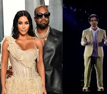 Kanye West got Kim Kardashian a hologram of her deceased father for her birthday and it quickly became a meme