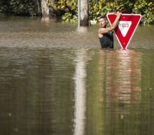 North Carolina flooding is so severe that rescuers need sonar to locate cars, victims