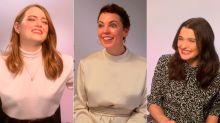 Las chicas de La Favorita se confiesan sobre el trío romántico y sexual que comparten en la película más comentada de la temporada