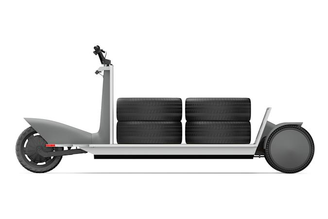 Polestar Re:Move electric cargo sled prototype