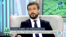 La reacción de Pablo Casado cuando Ana Rosa Quintana le propone encerrar a los políticos hasta que lleguen a acuerdos