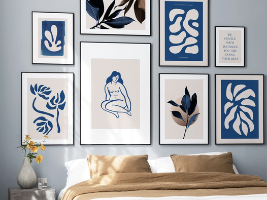 Interiors experts on framing and displaying your art