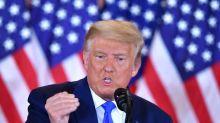 """Présidentielle américaine: Trump veut contester """"légalement"""" tous les États remportés par Biden"""