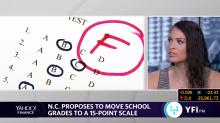 A school in North Carolina proposed to lower 'F' grade