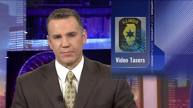 Illinois state trooper Tasers to have video cameras