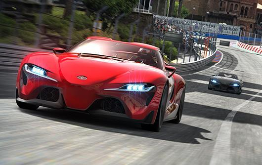 Toyota's FT-1 concept coupe joins Gran Turismo 6 in latest update