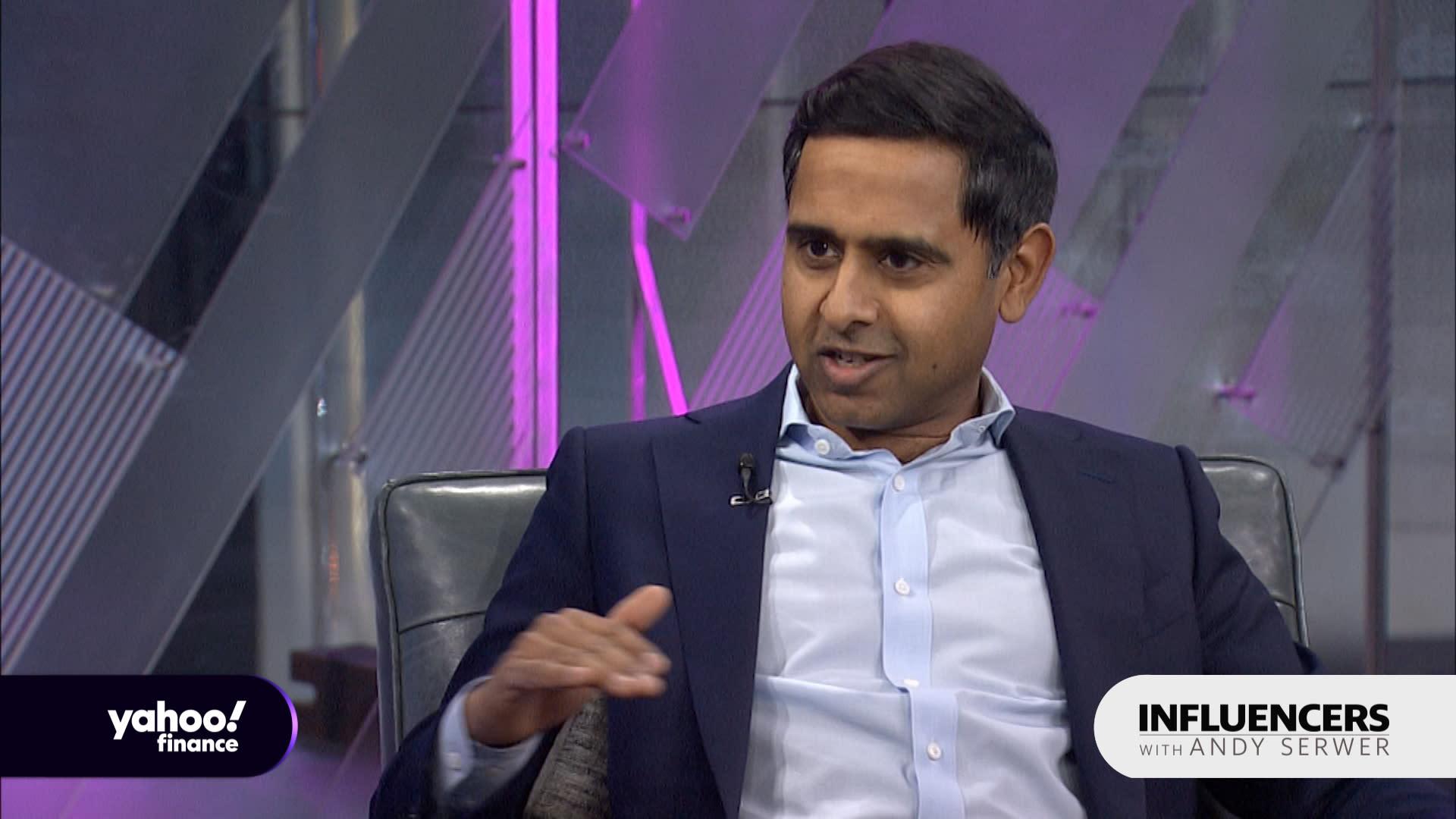 Vivek Shah: Society 'isn't an equal playing field'
