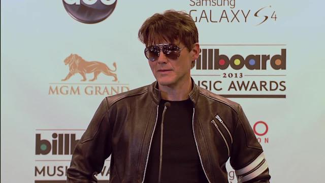 Morten Harket Press Room Interview - Billboard Music Awards 2013