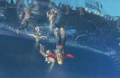 New ArcheAge clip shows underwater environments