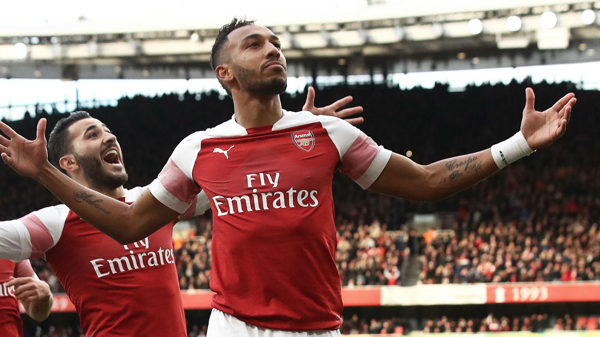 Emery challenges Aubameyang to be Premier League's top scorer