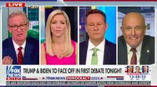 'Fox & Friends' Hosts Look On in Horror as Rudy Giuliani Blurts Out Biden Dementia Conspiracy Theory
