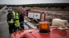 Spanish firefighter dies as flash flooding hits south