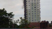 Edmonton fire: 50 firefighters tackle tower block blaze in north London