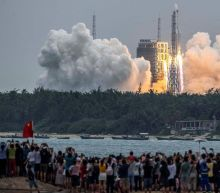 Pentagon tracking path of falling Chinese rocket