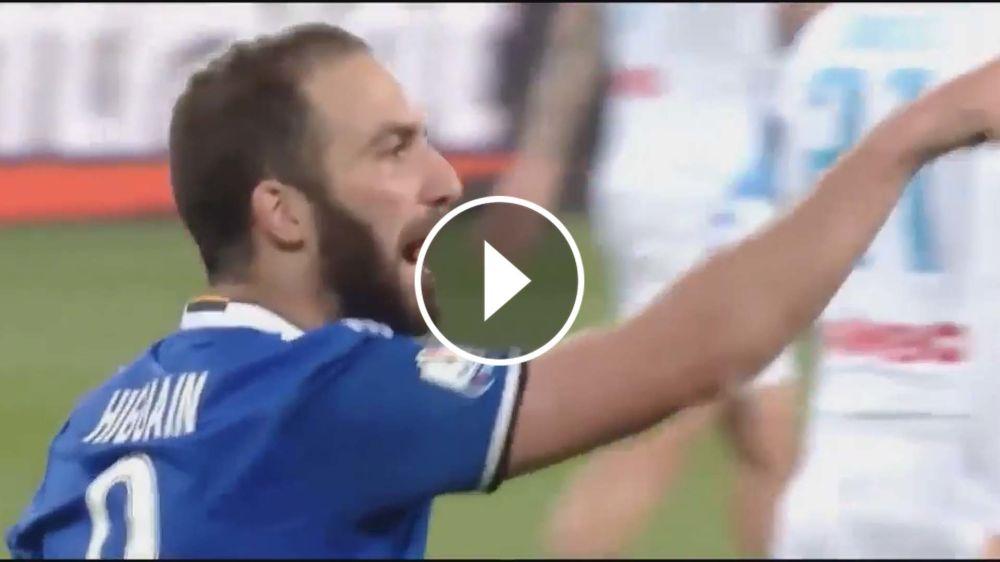 VIDEO: ¿Qué le gritó Higuaín al presidente de Napoli?