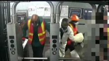 NYPD Search for Men Dressed as Construction Workers Who 'Robbed Jewelry Store'