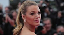 Blake Lively Is A Timeless Beauty With Short Brown Hair In This Retro Instagram Photo