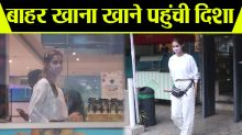 Disha Patani spotted at outside restaurant; Watch video