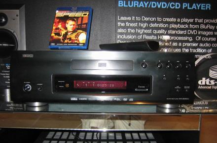 Hands-on with Denon's pricey DVD-3800BDCI Blu-ray player