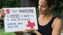 Jennifer Garner Travels to Houston to Help Families Affected by Hurricane Harvey