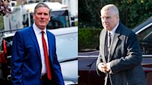 Sir Keir Starmer calls for Prince Andrew to cooperate with US authorities