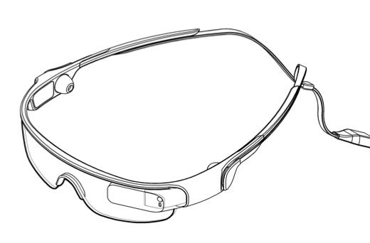 Samsung patents design of smartphone-connected 'sports glasses'