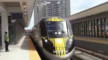 Would you hop a train to Disney World? The yellow Brightline is making a bet you will
