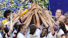 U.S. women win back-to-back World Cup titles, crowd chants 'equal pay'