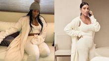 YouTuber goes viral for recreating Kim Kardashian's $263 look with a $25 blanket