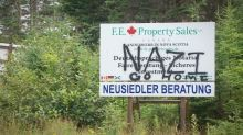 German couple buys land in Cape Breton, gets Nazi material too