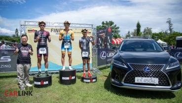 """LEXUS冠名贊助「2020 IRONMAN 70.3 Taiwan國際鐵人三項賽 」,共組""""Experience Amazing"""""""