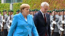 Chanceler alemã diz passar bem após novos tremores