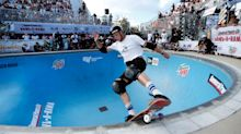 Skateboarding fans spent part of Tuesday afternoon hunting for Tony Hawk in New York City