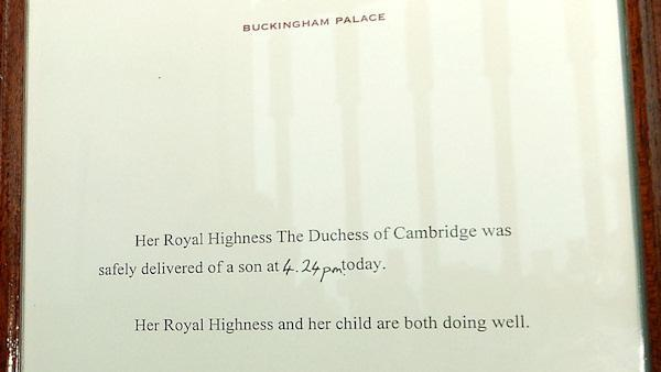 The Royal Baby is a boy!