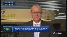 Shares of Siemens medical equipment unit Healthineers rise in Frankfurt debut