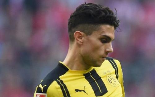Marc Bartra in action for Borussia Dortmund against Bayern Munich - AFP