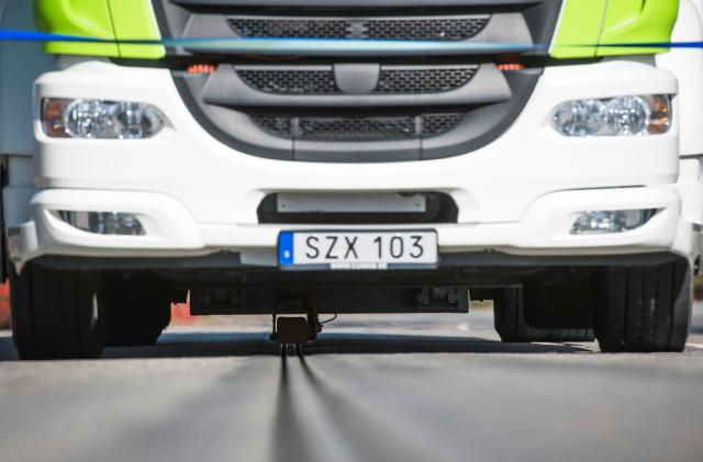 Sweden modified a road to recharge EVs while driving