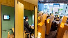 This Tokyo Starbucks outlet is designed for customers to work in