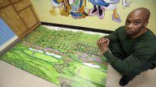 Cómo unos dibujos de golf salvaron a un inocente de pasar la vida en prisión