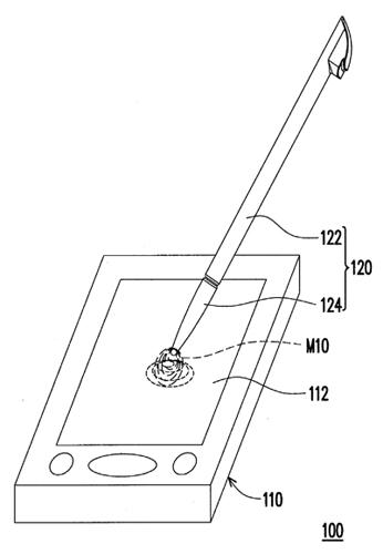 HTC files patent for capacitive stylus with resistive accuracy