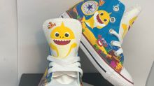 'Baby Shark' Inspires a Line of Colorful Custom Shoes for Babies and Kids — Where to Buy