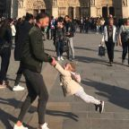 Search for 'father and daughter' in heart-warming Notre Dame photo