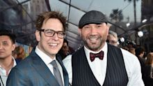 Dave Bautista put his career on the line to defend 'Guardians of the Galaxy' director James Gunn