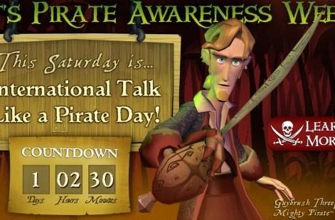 Celebrate Talk Like a Pirate Day with free and cheap Monkey Island games