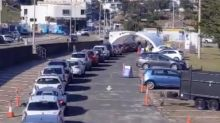 Massive queues for coronavirus testing as NSW hits 'most critical time'