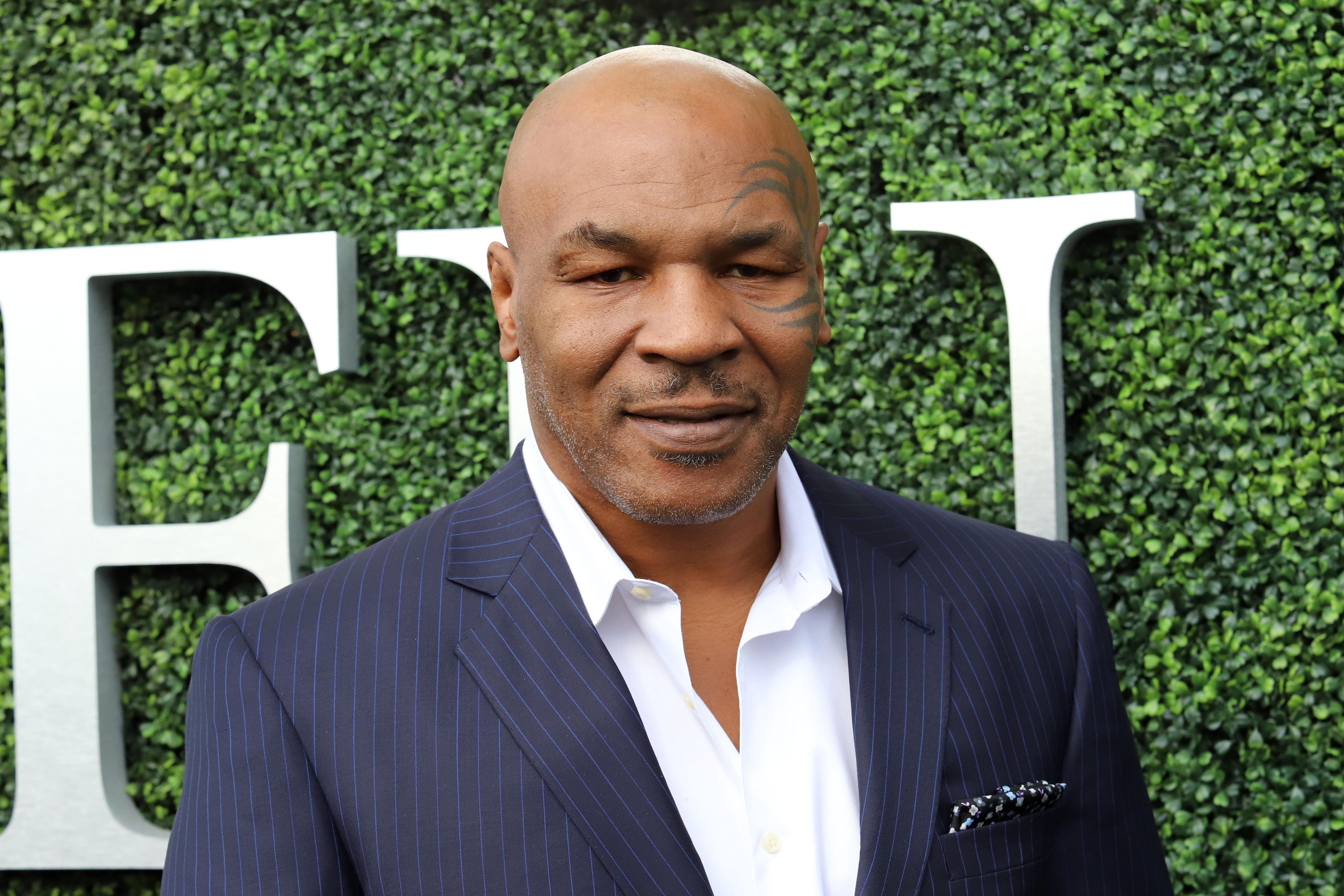 """<p>Former boxing champ and all-round controversial figure Mike Tyson is a known fan of The Donald. 'He should be president of the United States,' he told <a href=""""https://www.huffingtonpost.co.uk/entry/mike-tyson-endorses-donald-trump-2016_us_562e8853e4b00aa54a4aba46"""" rel=""""nofollow noopener"""" target=""""_blank"""" data-ylk=""""slk:HuffPo"""" class=""""link rapid-noclick-resp"""">HuffPo </a>back in 2015. (PA) </p>"""