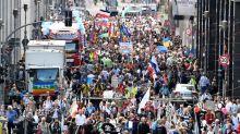 Berlin halts 'anti-corona' rally as European cities protest masks