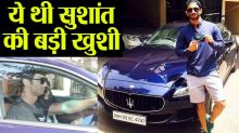 Sushant Singh Rajput had bought two cars in one day